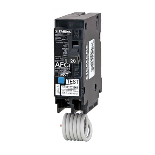 Dual Function AFCI/GFCI Circuit Breaker
