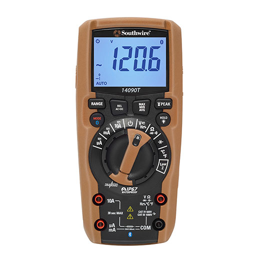 Bluetooth Enabled CAT IV Multimeter