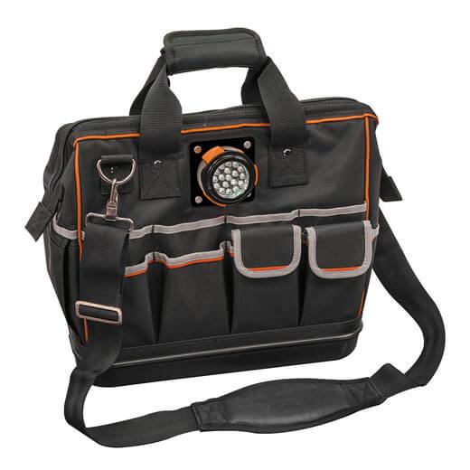 Tradesman Pro Organizer Lighted Tool Bag