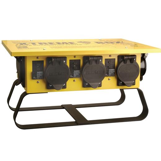 Temporary Power Distribution Box