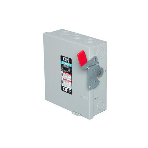 Siemens 3-Pole General Duty Disconnect