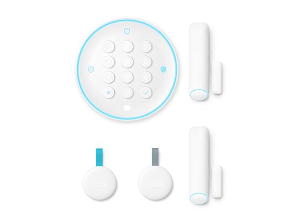 Nest Secure Alarm System Starter Pack Kit