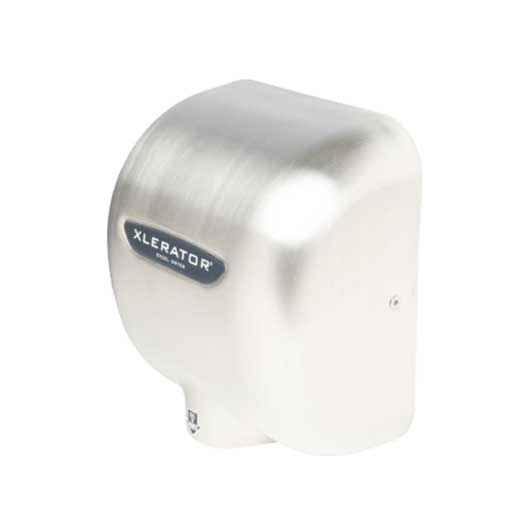 Excel Hand Dryer, 1500W, Brushed Stainless Steel